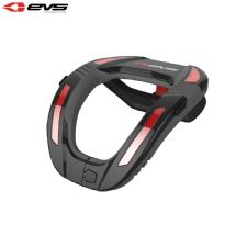 EVS R4K Koroyd Neck Protector Youth (Black/Red) Size Youth